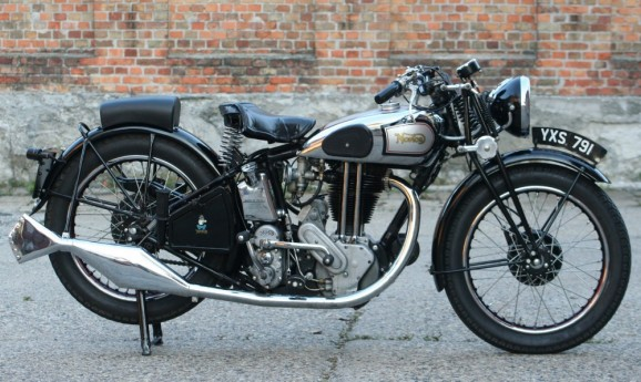 Norton Model 19 600cc OHV 1936