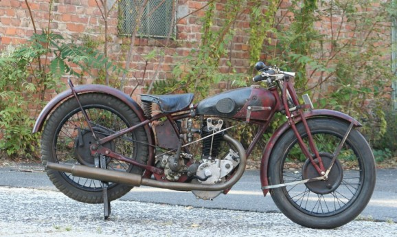 Rudge Whitworth 1928 500cc OHV