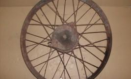 DKW gumifalcos kerék