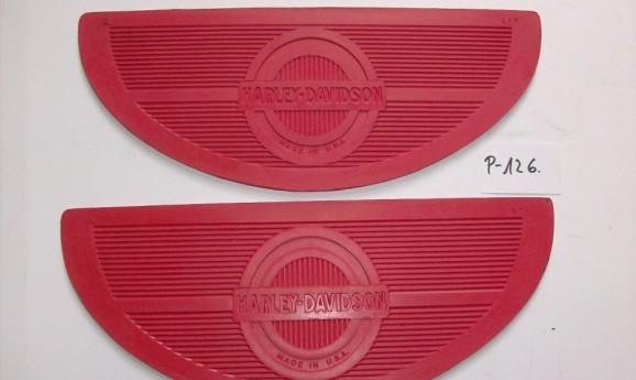Harley Davidson lábtartó gumi